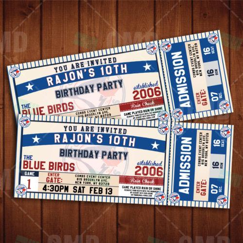 Toronto Blue Jays - Invite 2 - Product 1