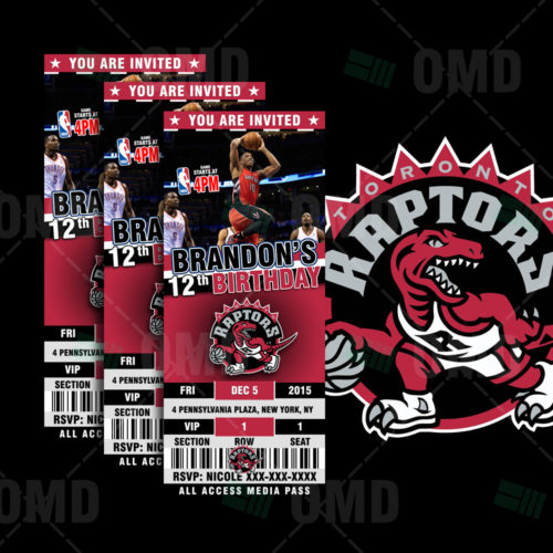 Toronto Raptors - Invite 1 - Product 1