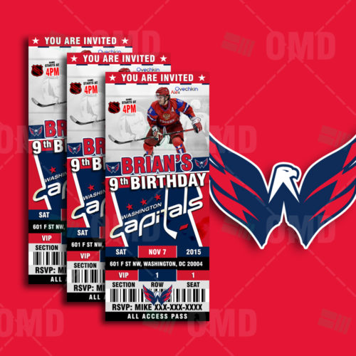 Washington Capitals - Invite 1 - Product 1