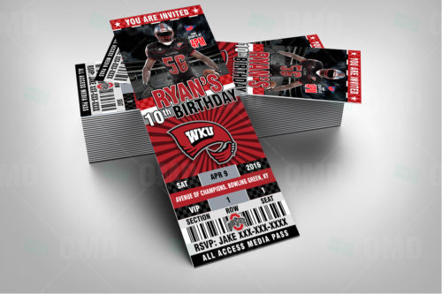 Western Kentucky Hilltoppers - Invite 2 - Product 2