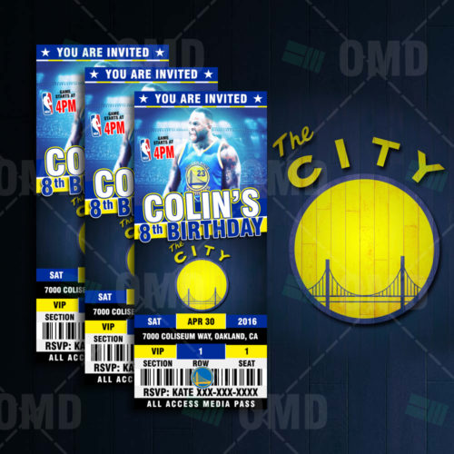 Golden State Warriors - Invite 4 - Product 1