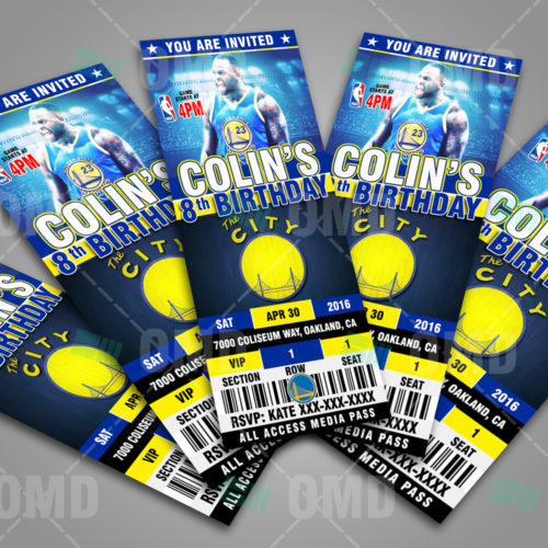 Golden State Warriors - Invite 4 - Product 3