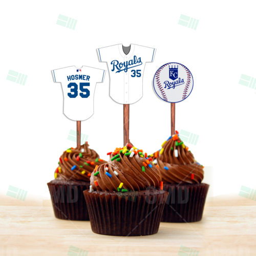 Kansas City Royals - Cupcake Toppers - Product 1