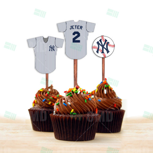 New York Yankees - Cupcake Toppers - Product 1