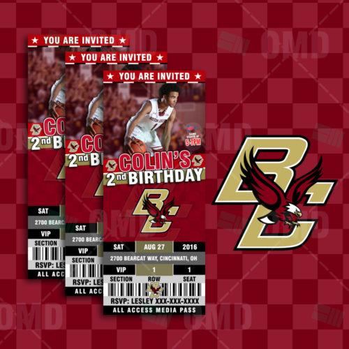 Boston College Basketball - Invite 1 - Product 1