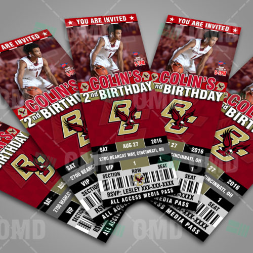 Boston College Basketball - Invite 1 - Product 3