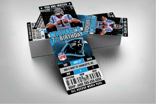 Carolina Panthers - Invite 1 - Product 2
