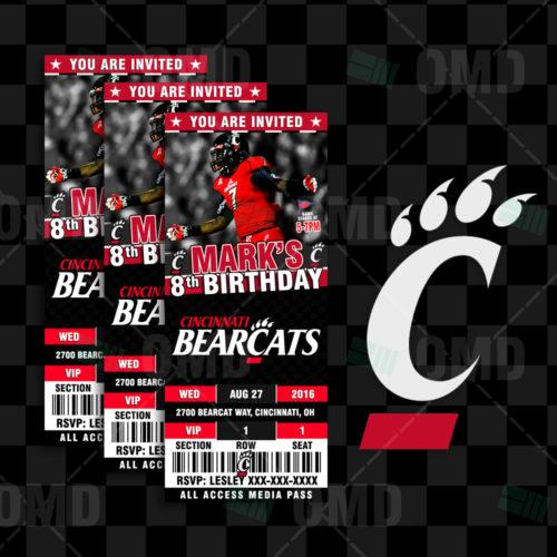 Cincinnati Bearcats - Invite 1 - Product 1