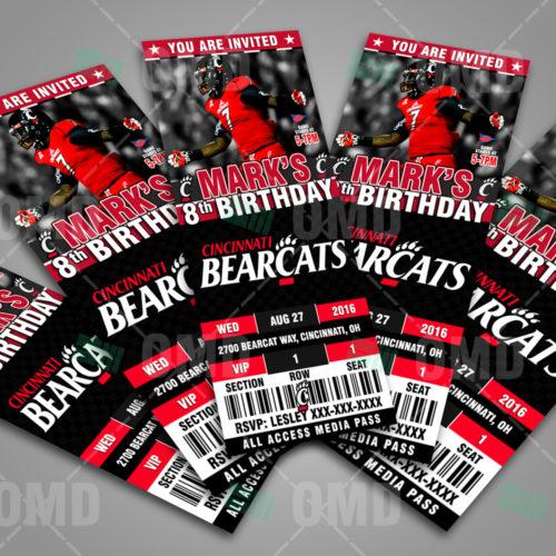 Cincinnati Bearcats - Invite 1 - Product 3