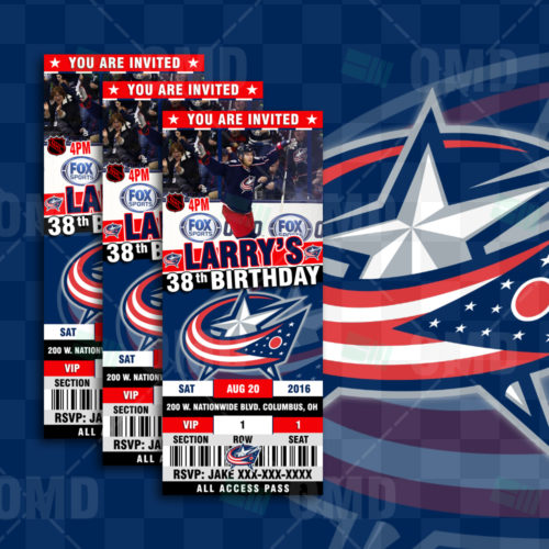 Columbus Blue Jackets - Invite 2 - Product 1