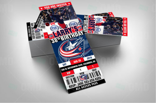 Columbus Blue Jackets - Invite 2 - Product 2