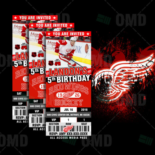 Detroit Red Wings - Invite 2 - Product 1
