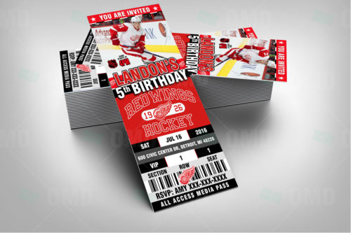 Detroit Red Wings - Invite 2 - Product 2