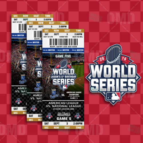 Kansas City Royals - World Series Ticket Invite - 1 - Product 1