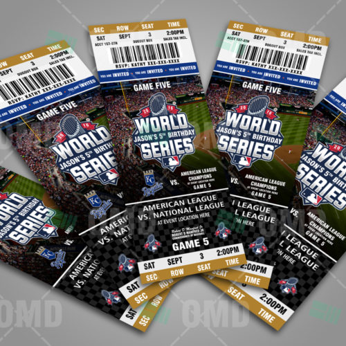 Kansas City Royals - World Series Ticket Invite - 1 - Product 3