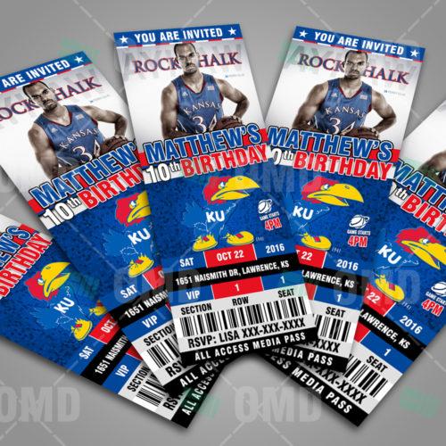 Kansas Jayhawks Basketball - Invite 1 - Product 3-1