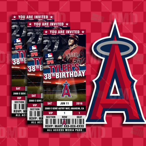 Los Angeles Angels Baseball - Invite 1 - Product 1