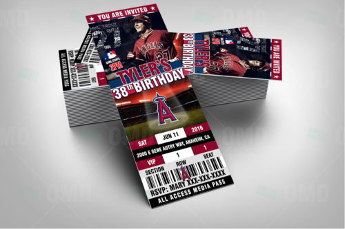 Los Angeles Angels Baseball - Invite 1 - Product 2