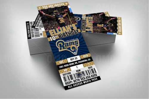 Los Angeles Rams - Invite 1 - Product 2