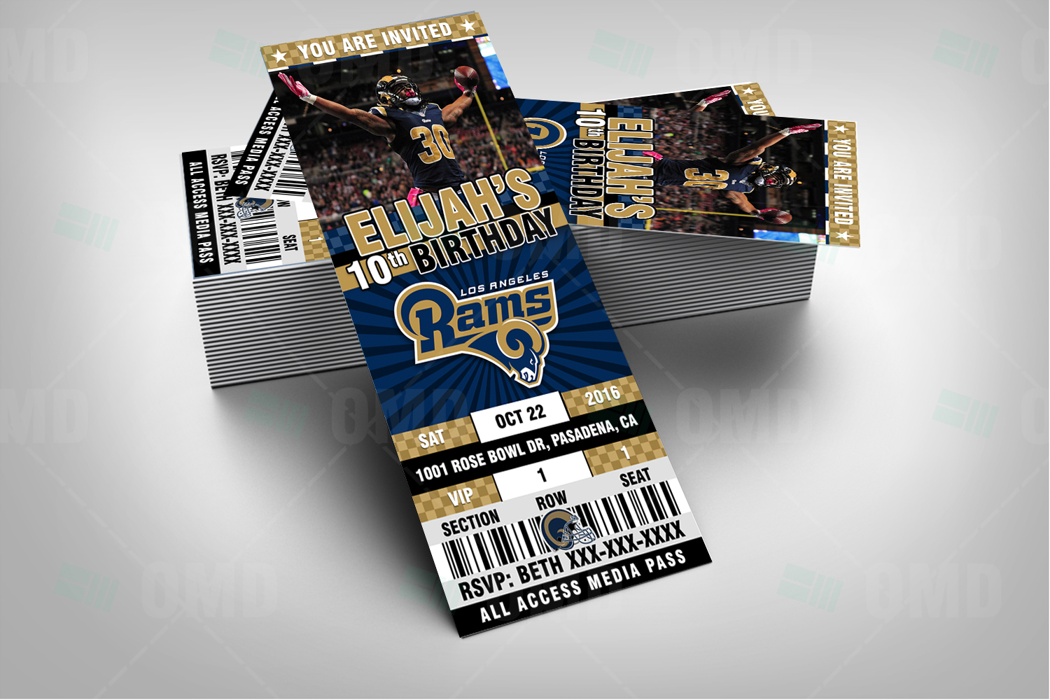 los angeles rams invite 1 product 2