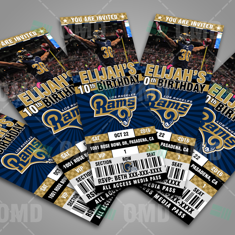 los angeles rams invite 1 product 3