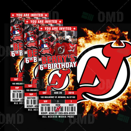 New Jersey Devils - Invite 1 - Product 1