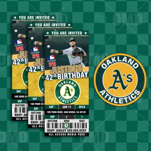 Oakland Athletics - Invite 2 - Product 1