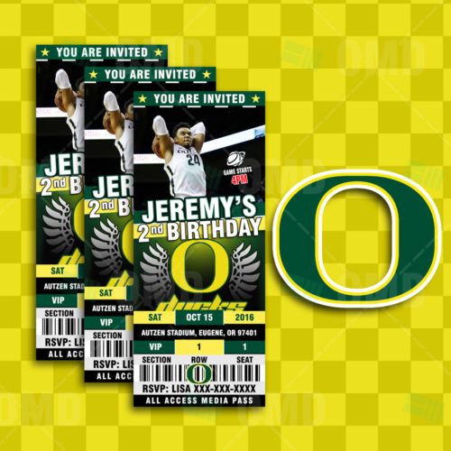 Oregon Ducks Basketball - Invite 1 - Product 1