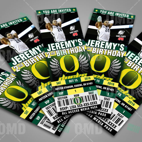Oregon Ducks Basketball - Invite 1 - Product 3