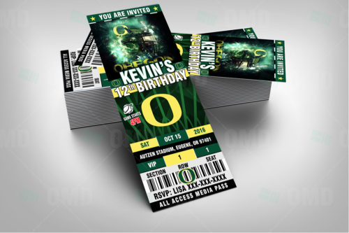 Oregon Ducks - Invite 2 - Product 2