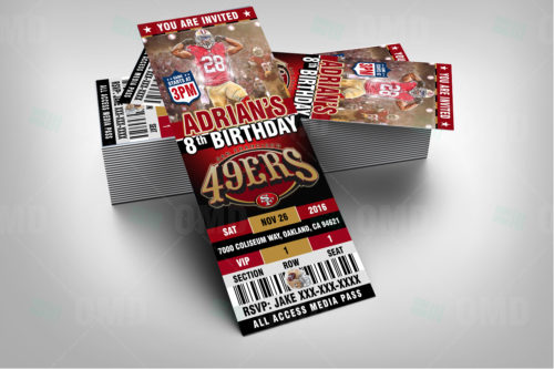 San Francisco 49ers - Invite 3 - Product 2