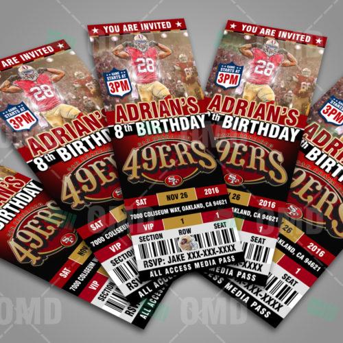 San Francisco 49ers - Invite 3 - Product 3