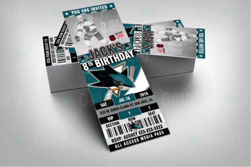 San Jose Sharks - Invite 1 - Product 2