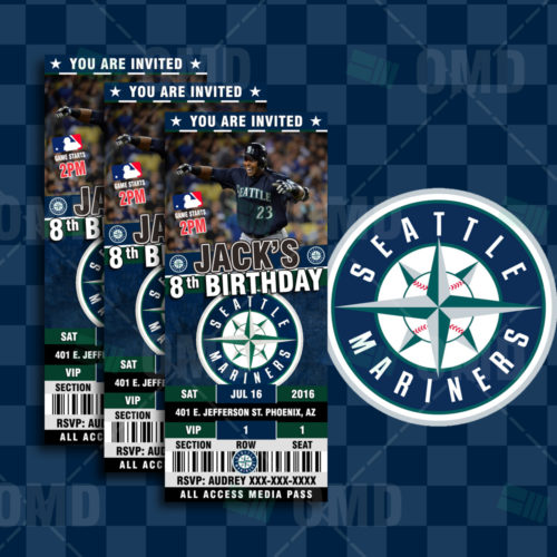 Seattle Mariners - Invite 1 - Product 1