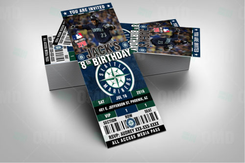 Seattle Mariners - Invite 1 - Product 2