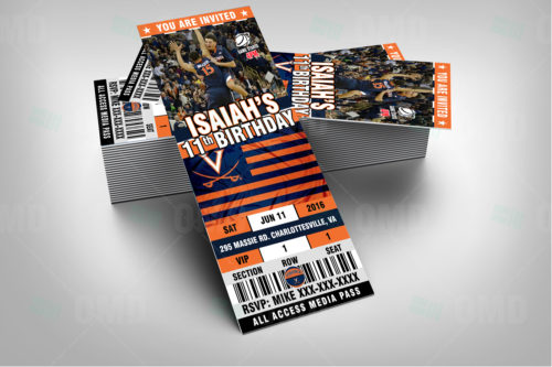 Virginia Cavaliers Basketball - Invite 2 - Product 2