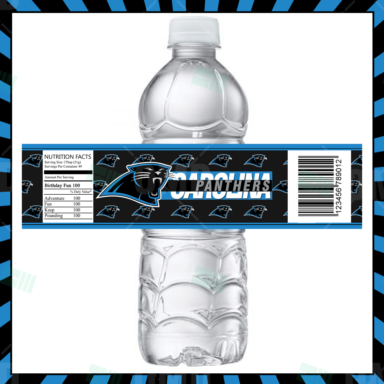 Carolina Panthers Ultimate Party Package – Sports Invites