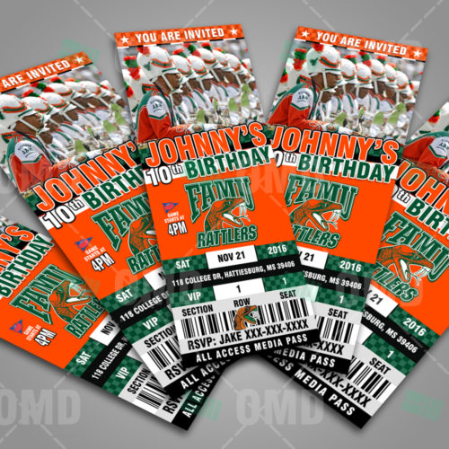 Florida A&M Rattlers - Invite 1 - Product 3
