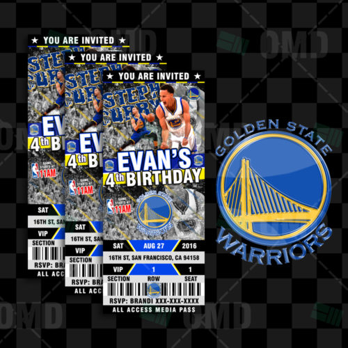 Golden State Warriors - Invite 5 - Product 1