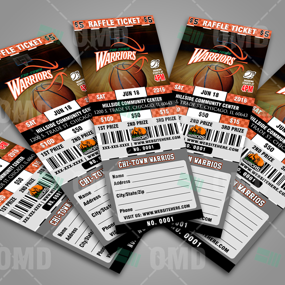 basketball raffle ticket template sports invites. Black Bedroom Furniture Sets. Home Design Ideas