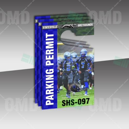Statesville General Parking Permit Design - Product 2