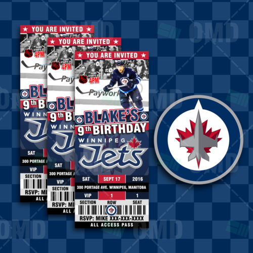 Winnipeg Jets - Invite 1 - Product 1-2