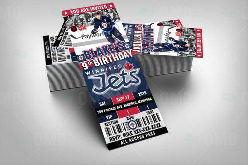 Winnipeg Jets - Invite 1 - Product 1-3