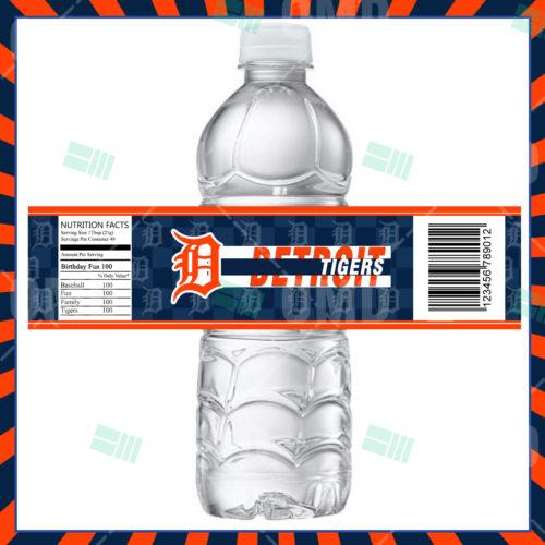 Detroit Tigers Baseball - Bottle Label - Product 1