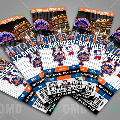 New York Mets Baseball - Invite 3 - Product 2