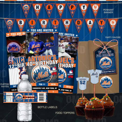 New York Mets - Party Package - Product 1