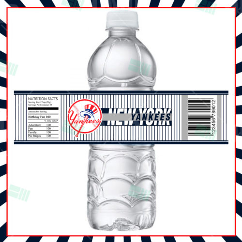 New York Yankees - Bottle Label - 1 - Product 1