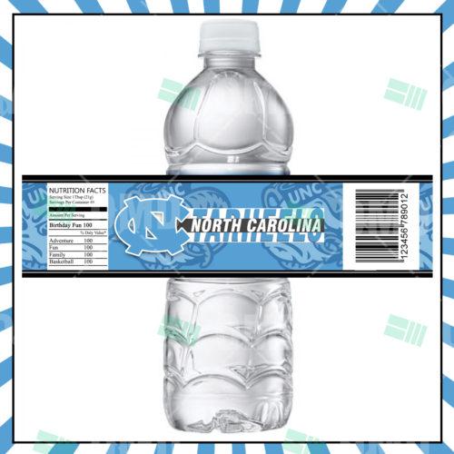 North Carolina Tarheels - Bottle Label - 1 - Product 1