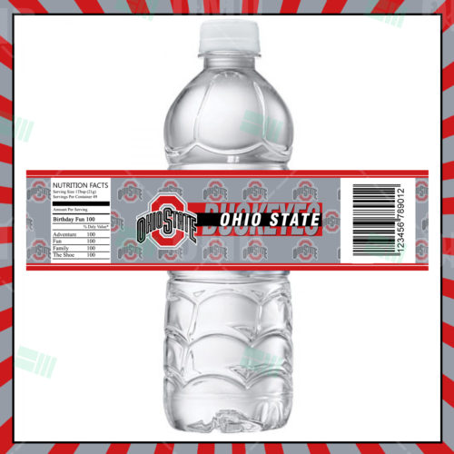 Ohio State Buckeyes - Bottle Label - 1 - Product 1