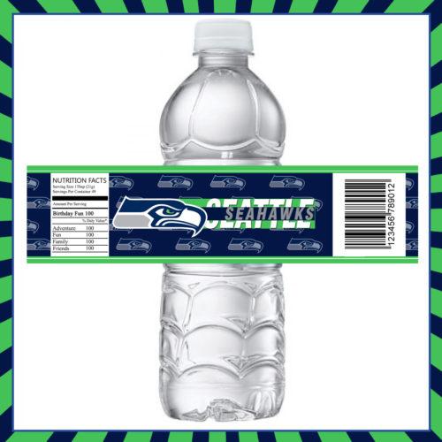 Seattle Seahawks - Bottle Label - 1 - Product 1